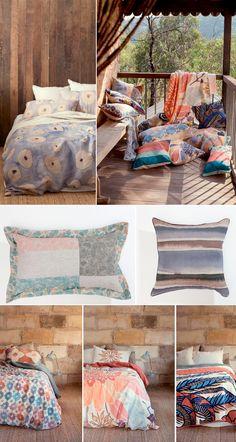 Beautiful bedding, etc. {Nancybird}