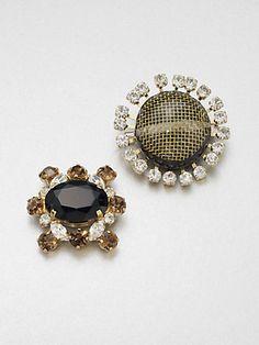 Chanel   Vintage Stone Brooch   RESEE   www   Chanel brooch