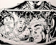 VENOM from Marvel Comics. Pencils: Paulo Siqueira, Inks: Walden Wong. Sub me at www.youtube.com/WaldenWongArt . #venom #spiderman #marvel #comics #marvelcomic #draw #ink #inks #inking #penandink #penandinkdrawing #micron #fineliner #art #artwork #anime #manga #mangastyle #mcu #avengers #arts #sketching #artoftheday #sexy #doodles #drawing #sketch #mcfarlane #artwork #sketching #dccomics #artist