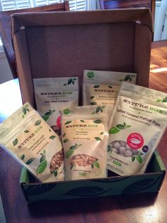 Small Town Mama: Nature Box Sept 2013 Review