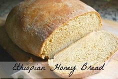 "Yemarina Yewotet Dabo is ""Honey Bread-"" a simple Ethiopian bread you can make with your kids and experience bread from another culture. Ethiopian Bread, Ethiopian Recipes, Great Recipes, Favorite Recipes, Honey Recipes, Interesting Recipes, Honey Bread, Good Food, Yummy Food"