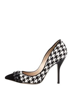 bef92f860d57 Houndstooth Haircalf Cece Pump - Ralph Lauren Pumps - RalphLauren ...