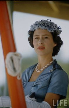 Princess Margaret showing us while she was a style icon, during a tour of East Africa in 1956.
