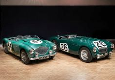 At this year's Goodwood Festival of Speed auction, Bonhams will sell an Austin-Healey  factory racer with a competition history that includes the 1953 Mille Miglia and the 1953 24 Hours of Le Mans, where it finished 12th overall and second in class.