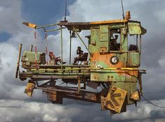 Ian McQue : an artist that inspires
