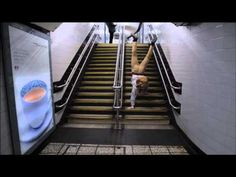 Man catches the London Underground on his hands - Life in a Handstand: Mind The Gap! (Ep 1)