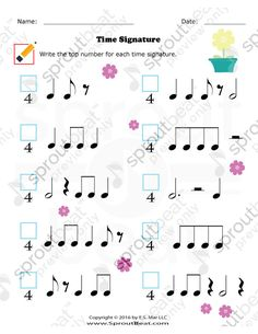 TMTA Level 4 – Time Signature Music Math, Music Games, Music Classroom, Music Lessons For Kids, Music For Kids, Piano Lessons, Gender And Development, Ancient Music, Music Theory Worksheets