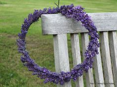 Wilda Tilda: Lavendelkrans