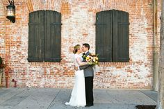 Corondolet House #urbanwedding #brickwall #portraits