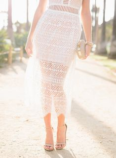 Sydne Style wears Steve Madden Stecy sandals with nude ankle strap