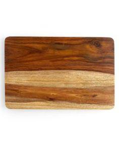Martha Stewart Sheesham Gripper Wood Cutting Board, Macy's $24.99