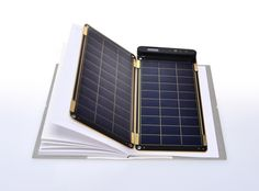 YOLK is raising funds for Solar Paper, the world's thinnest and lightest solar charger on Kickstarter! World's first solar charger that can be placed inside your note or planner. It is a paper thin and ultra light weight solar charger Solar Charger, Phone Charger, Renewable Energy, Solar Energy, Solar Paper, Solar Panel Technology, Green Technology, Eco Architecture, Diy Solar