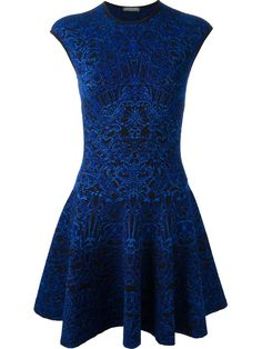 Gorgeous Alexander McQueen Jacquard Dress http://rstyle.me/~L0m5
