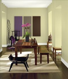59 best dining room color samples images benjamin moore colors rh pinterest com  best wall color for formal dining room