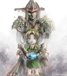 Link and Hero's Shade by suzumiyamisa.deviantart.com on @DeviantArt
