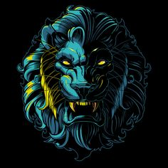 Vector Lion by SWEYDA | Check out more great content at: www.emrld14.com