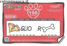 Amici Cucciolotti 2017: Retro Figurina n. 198 -