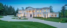 Dawn Hill, Wentworth Estate   Ascot Design Mega Mansions, Mansions For Sale, Mansions Homes, Luxury Mansions, Residential Architect, Architect Design, Dream Mansion, Rich Home, Classic House