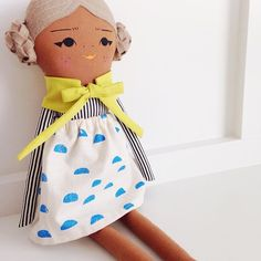 This is the last girl left in the shop. She is waiting to be wrapped up and put under your tree!