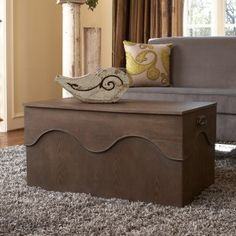 angelo:HOME Kara Trunk Coffee Table - Coffee Tables at Coffee Tables Galore