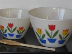 Grandma's mixing bowls