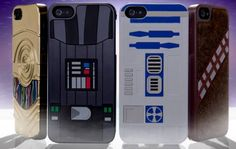Some cool iPhone 5 cases themed on Star Wars. Do you go for the Sith Lord or that loveable droid?