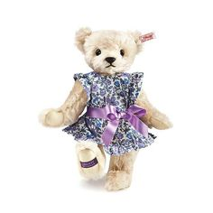 Steiff EAN 677625 Violet Teddy Bear Limited Edition