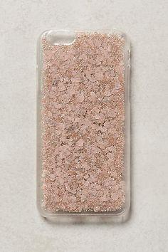 Sparklerose iPhone 6 Case - anthropologie (can totally make something similar)