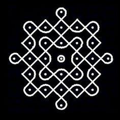 Rangoli Kolam Designs on Happy Shappy in 2019 Easy Rangoli Designs Videos, Indian Rangoli Designs, Rangoli Designs Flower, Rangoli Border Designs, Rangoli Patterns, Rangoli Ideas, Rangoli Designs With Dots, Rangoli Designs Images, Kolam Rangoli
