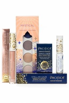 this Mystical Beauty Set from Pacifica is 100% vegan and cruelty-free, we love that! #makeup #vegan #beauty #crueltyfree http://www.pacificaperfume.com