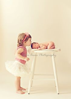 Posing Ideas {Toddler + Baby Siblings}