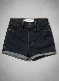 Abercrombie Natural Waist Short-Shorts..I have these!!