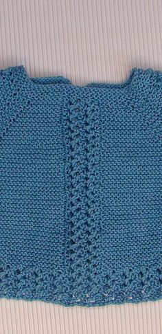 puntomoderno.com Lana, Crochet Top, Women, Fashion, Knit Jacket, Sweater Vests, Baby Sweaters, Baby Boy Sweater, Moda