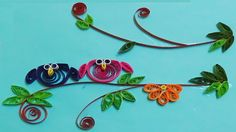 Paper Quilling - How to Make Cute Owl