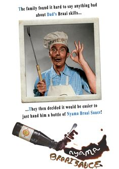 If your butcher does not have Nyama Braai Sauce, get yourself another butcher!!! South Africa, Salt, Baseball Cards, Sayings, Lyrics, Salts, Quotations, Idioms, Quote