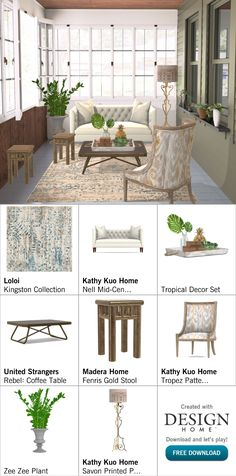 Created with Design Home! Gold Stool, Interior Design Games, My Design, House Design, Outdoor Furniture Sets, Outdoor Decor, Tropical Decor, White Roses, Floor Lamp