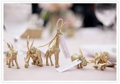 wedding animal favors (if we can't get the injection molder up and running)