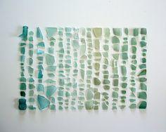 sea glass decorating idea