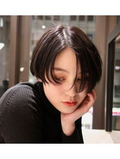 キーノ(kino) ジェンダーレスショートボブ Short Hair Undercut, Undercut Hairstyles, Fringe Hairstyles, Short Bob Hairstyles, Girl Hairstyles, Asian Short Hair, Girl Short Hair, Short Hair Cuts, Shot Hair Styles