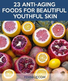 Anti ageing foods* List of anti ageing foods* Top Anti ageing foods... Thank goodness I love these foods. Glad I dont look old.Thanks to Clara Otto #Diettipsforthyroidproblems #goodantiaging
