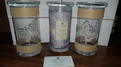 I love my Jewelscent candles and being able to reuse the glass jars. The butterfly glass jars were fun to create! The French Lilac scent is like having a vase full of real lilacs on the counter! Get your Jewelscent products by using my website! www.jewelscent.com/MindyLynn