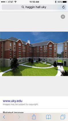 This is haggin hall, it is considered to be on central campus. It has k-lair in it which is very cool bc I love to eat at k lair. I think the location of this dorm is the best out of all of them, do other people agree with this? Where do people think the best location is?