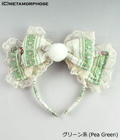CL / Fancy Bunny Ribbon Alice Band