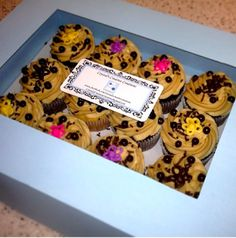 How to Make your Own Cake/ Cupcake Box- Tutorial