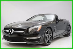 Awesome Awesome 2014 Mercedes-Benz SL-Class SL 63 AMG® 2014 SL 63 AMG Used Turbo 5.5L V8 32V Automatic RWD Convertible Premium 2018