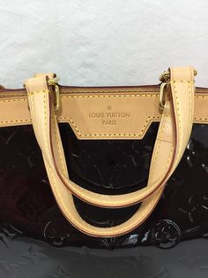 063a169d2b5b Louis Vuitton Vernis Brea PM Amarante Shoulder Bag - SKU 868. The Chicago  Consignment
