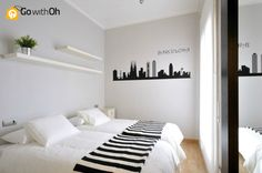 """Enjoy a """"Barcelona style"""" #Barcelona apartment... Right by the Sagrada Família! Who would you take with you? Check out the rest of the flat: www.gwo.is/bcn-room #GowithOh"""