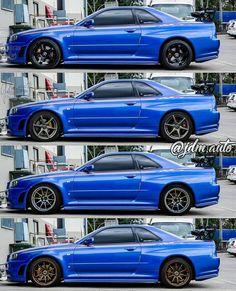 Which would it be? Nissan Gtr R34, Nissan Skyline Gtr R32, R34 Gtr, Japanese Sports Cars, Japanese Cars, Skyline Gtr R34, Honda Prelude, Street Racing Cars, Tuner Cars
