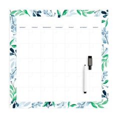Monthly Calendar, Magnet – Simplified® by Emily Ley