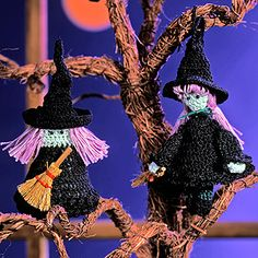 Leisure Arts - Winsome Witches Thread Crochet Patterns ePattern, $2.99 (http://www.leisurearts.com/products/winsome-witches-thread-crochet-patterns-digital-download.html)  Another one of my originals.